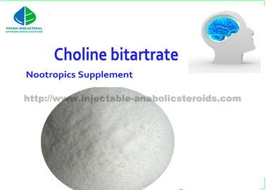 China Suplemento cru CAS 87-67-2 DL a Nootropics do nível superior dos pós do esteroide do bitartarato do Choline fornecedor